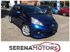 HONDA FIT SPORT   MANUAL   NO ACCIDENTS   CERTIFIED