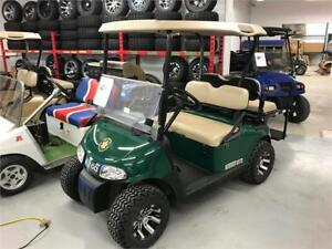"NO TAX 2014 EZGO RXV 48V Golf Cart Green 20"" Alloys"