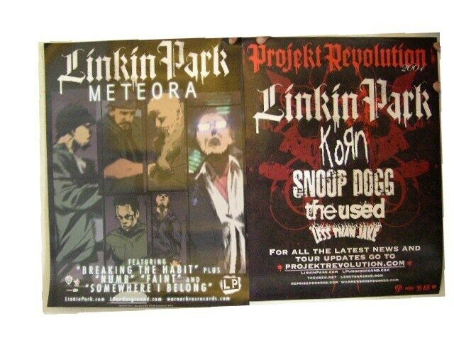 Linkin Park Poster Meteora Two-Sided