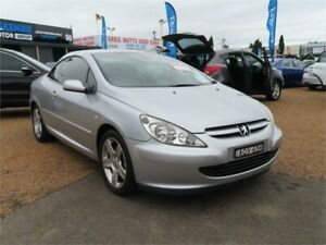 2004 Peugeot 307 T5 MY03 CC Sport Silver 5 Speed Manual Cabriolet Minchinbury Blacktown Area Preview