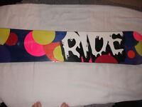 Ride Slimewalls Snowboard 159cm
