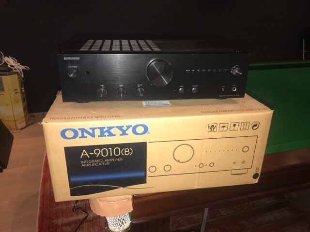 Onkyo A-9010 amplifier - great condition - top rated in What HiFi Magazine  | in Paddington, London | Gumtree