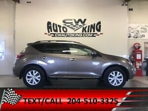 2011 Nissan Murano SV+ / AWD / Low K / Heated Seats / Pan Roof