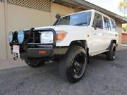 2007 Toyota LandCruiser VDJ76R Wagon LOW KMS Amazing Example Alice Springs Alice Springs Area Preview
