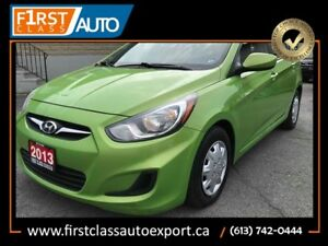 2013 Hyundai Accent AMAZING GAS MILEAGE - JUST ARRIVED