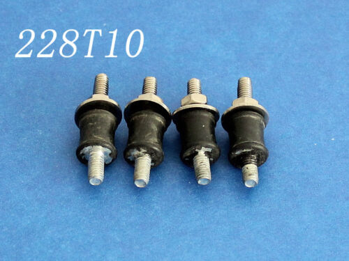 Gas engine  rubber isolators mount M4 for rc boat 228T10