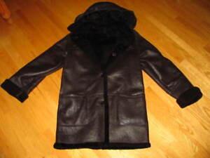 Manteau d'hiver (Peau D'agneau) Femme
