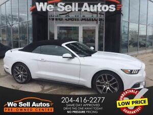 2016 Ford Mustang Eco Boost Premium *LTHR *ALLOY WHEELS *CAM *NA