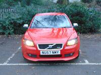 VOLVO C30 1.6 D SPORT 3d 110 BHP (red) 2007