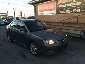 2007 Mazda Mazda3 GT ***SUNROOF*** AS IS SPECIAL****