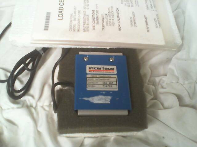 Interface SMT2-450-357 Load Force Transducer - New in Box
