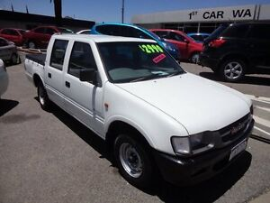 2001 Holden Rodeo White 5 Speed Manual Dual Cab Victoria Park Victoria Park Area Preview