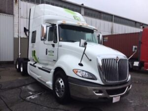 2017 International ProStar +122, Used Sleeper Tractor