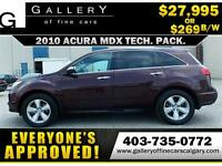 2010 Acura MDX SH-AWD $269 bi-weekly APPLY NOW DRIVE NOW
