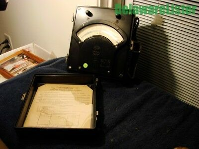 Vintage Westinghouse Co. Portable Direct Current Millivolt Meter Px-5 Dc 0100