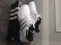 NEW Adidas Barricade tennis shoes size 10.5, RRP £64.99