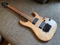 Ibanez RGA8 custom 8 string electric guitar - Bareknuckle pickups BARG for sale  Battersea, London