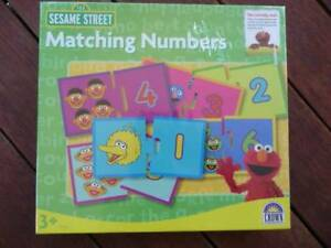 Sesame Street - Matching numbers New - in packaging