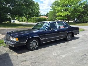 1989 Mercury Grand Marquis GS Sedan