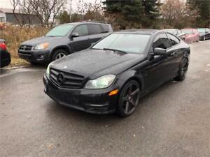 2012 Mercedes-Benz C 250, Safety & ETEST for ON or QC INCL.