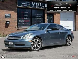 2006 INFINITI G35 Coupe Sport *Bluetooth, Certified, Warranty*