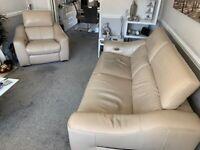 Elixir Prestige Leather Sofa + 2 Chairs
