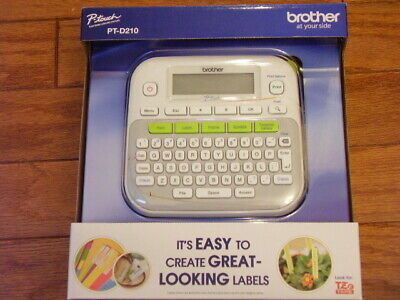 Brother Pt-d210 P-touch Electronic Label Maker Brand New
