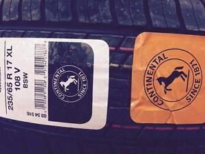 4 Brand New Continental 4x4 Contact 235/65R17XL All Season Tires *** WallToWallTires.com ***