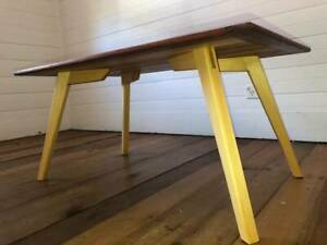 Hand made timber coffee table