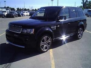 2013 Land Rover Range Rover Sport SuperchargedBIOGRAPHY!