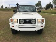 2014 Toyota Landcruiser VDJ79R MY12 Update Workmate (4x4) French Vanilla 5 Speed Manual Oakey Toowoomba Surrounds Preview