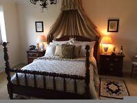 Stunning Dark Wood Bedroom Suite