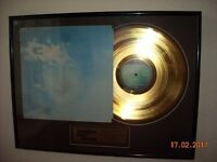 John Lennon Imagine Limited Edition Gold Plated Disc