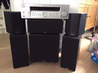 Sony 5.1 Amp, Teac 5.1 Speakers & Active Sub