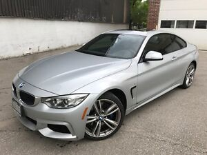 2014 BMW 435i xDrive Coupe **6 Spd** M Sport /  Performance PKG