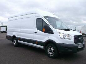 Ford Transit T350 L4 LWB JUMBO H3 HIGH ROOF 2.2 TDCI 125Ps VAN DIESEL (2015)