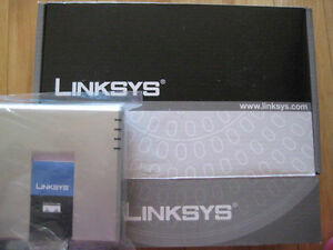 New Unlocked Cisco Linksys Spa2102 VoIP SIP adapter ATA spa122