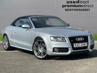 2010 Audi A5 3.0 Tdi Quattro S Line 2Dr S Tronic Auto Convertible Diesel Automat