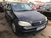 2003 Vauxhall Astra 1.6 AUTOMATIC, 5dr CHEAP INSURANCE, CEAP FUEL