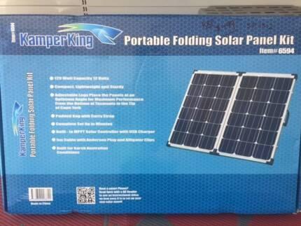 120watt Solar Panel Suitcase style Para Hills West Salisbury Area Preview