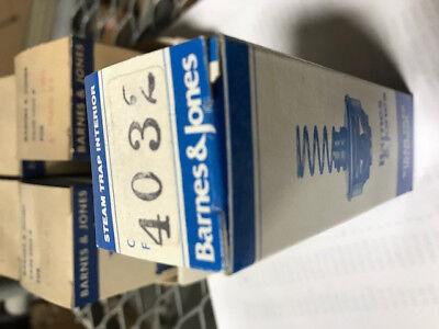 Barnes Jones Steam Trap Interior Cage Unit 4032 New In Box