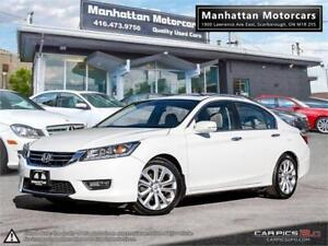 2014 HONDA ACCORD TOURING |NAV|ROOF|PHONE|LEATHER|CAMERA|SIDECAM