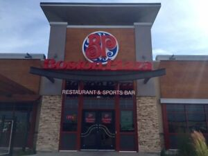 Boston Pizza is now hiring line cooks and deli drivers