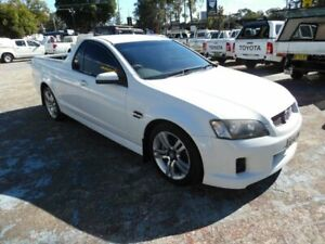 2007 Holden Commodore VE SV6 White 5 Speed Automatic Utility Homebush West Strathfield Area Preview