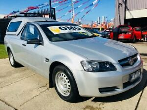 2008 Holden Commodore VE Omega Silver 4 Speed Automatic Utility Brooklyn Brimbank Area Preview