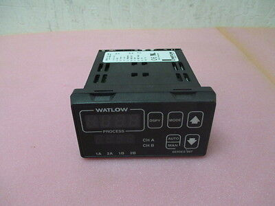 Watlow 997D-11CC-JURG Dual Channel Digital Temperature Controller Display, 997