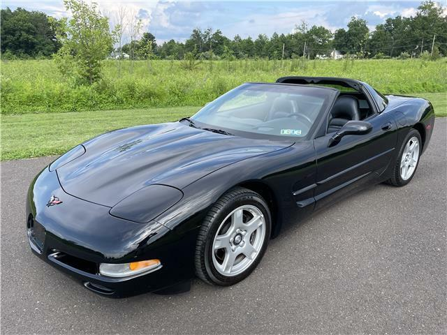 1999 Black Chevrolet Corvette Coupe  | C5 Corvette Photo 3