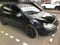 VW GOLF MK5, LOW MILES, CHEAP TO INSURE, LOOKS AMAZING.