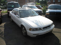 BEST OFFER for White Acura Legend (5 speed) Stick Shift