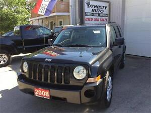 2008 Jeep Patriot Sport / CERTIFIED / DYNASTY AUTO